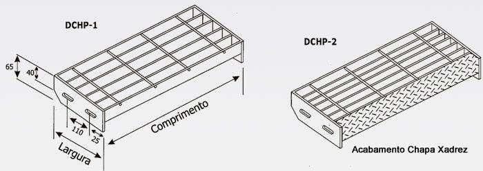 Produtos Chaperfur degrau